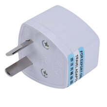 Universal Travel US UK EU to AU AC POWER PLUG ADAPTER TRAVEL CONVERTER