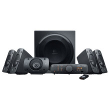 LOGITECH Z906 Surround Sound Speakers - Black