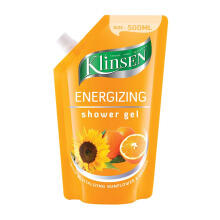KLINSEN Shower Gel Energizing Refill 500ml