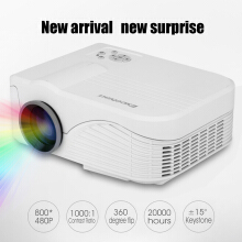 Excelvan Home mini projector LCD White