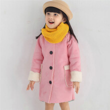 BESSKY Infant Toddler Baby Kids Girls Warm Winter Tops Casual Clothes Coat_