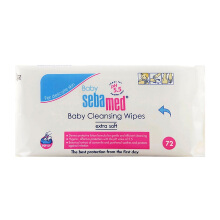 SEBAMED Baby Cleansing Wipes 72 Lbr