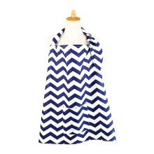 MOOIMOM Breastfeeding Nursing Cover - White Navy