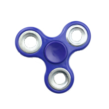SPINNER Fidget Spinner Silver Bearings - Electric Blue
