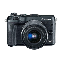 CANON EOS M6 Black Kit EF-M15-45mm