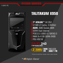 DIGITAL ALLIANCE Talitakum X950 - with 1TB HDD