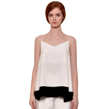 LOOKBOUTIQUESTORE City Tank - White -Black