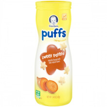 GERBER Puff Snack Sweet Potato Tub - 42gr