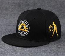 BAI B-210 Adjustable Baseball Cap MBL Hiphop cap with Libra design black&gold color