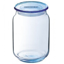 LUMINARC Toples Rondo Ice Blue Jar L0499 1L - Blue
