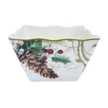 222 FIFTH - Bowl - Set of 4 - Holiday Wishes