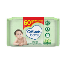 CUSSONS BABY Wipes Naturally Refreshing 50'S + 30'S