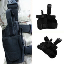 [Kingstore]Practical Airsoft Military Tactical Drop Leg Thigh Holster Pouch