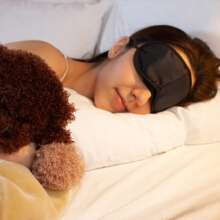 Eye Mask Comfortable Sleeping Mask for Rest Relax Travelling