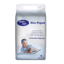 BABY SAFE Alas Popok (10pcs) UP10M