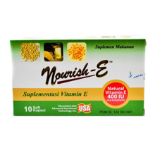 NOURISH-E 400 IU Box (10 Tablets)