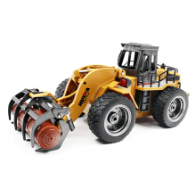 HUINA TOYS RC Alloy Timber Grab Truck RTR Deep Yellow
