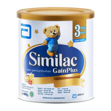 SIMILAC Gain Plus Susu Tin - 400gr