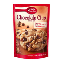 BETTY CROCKER Cookies Pouches Chocolate Chip 496g