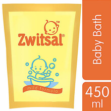 ZWITSAL Classic Baby Bath Pouch 450ml