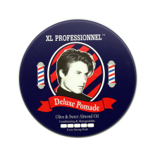 XL Professionnel Deluxe Pomade Olive & Sweet Almond Oil - 80g White