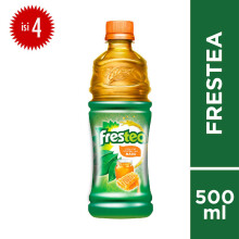 FRESTEA Green Honey PET Botol 500mlx4pcs