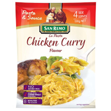 SAN REMO La Pasta Chicken Curry # 253 120g