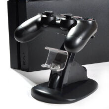 Dual USB Charging Stand Charger Dock for Sony Playstation PS4 Controller
