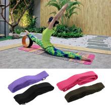 [Kingstore]Yoga Stretch Strap D-Ring Belt Figure Waist Leg Fitness Exercise Gym