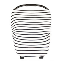 MOOIMOM Multi-Use Nursing Scarf - BW Fine Stripe