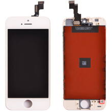 Smatton LCD For iPhone 5S LCD Touch Screen Digitizer Frame Assembly Display Touch Screen Replacement For iPhone 5S LCD White