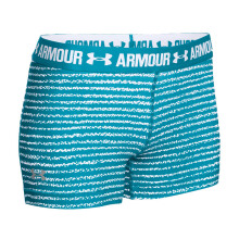 UNDER ARMOUR UA HeatGear Armour Printed 3 Inch - Aqua Blue