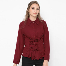 FBW Kate Corset Long Sleeves Blouse  - 6 Warna