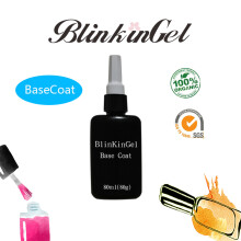 Blinkingel 80ml Long Lasting UV LED Top Coat Base Coat No Wipe Top Coat UV Gel Matte Soak Off Gellak UV Transparent