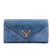 HUER Mondi Flap Wallet - Blue [One Size]