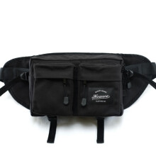 Ninenine Vibrant Black Hip Pack