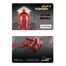 MANDIRI E-Money Star Wars: The Last Jedi - Elite Praetorian Guard