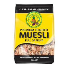 MUESLI Premium Toasted Full of Fruit 750g (Yellow)