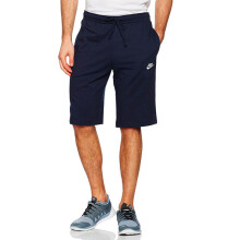 NIKE As M Nsw Short Jsy Club - Obsidian/White