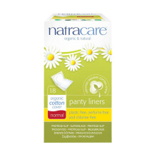 NATRACARE Panty liner Normal Wrapped 18's