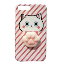 iPhone 6 6S 6 Plus 7 7 plus Cute  3D Cartoon Cat TPU Cover Case