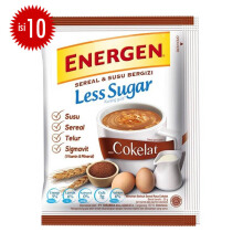 ENERGEN Coklat Less Sugar 20g x 10pcs