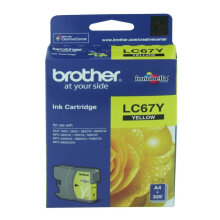 BROTHER LC-67 ink - Yellow