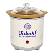 TAKAHI Slow Cooker 0.7 L Heat Resistant - Pink