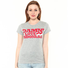 DAMN! I LOVE INDONESIA D! Signature Female Misty HD Red - Misty Grey