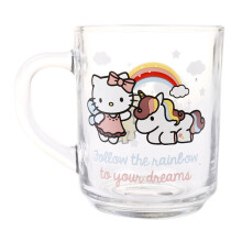 BRILIANT Magic Unicorn Hello Kitty 1&2 Mini Mug Set of 2 - GMC2110