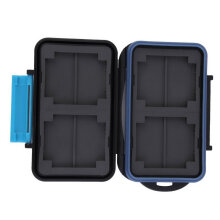 Memory Card Case Holder for 8 x Cards MC-SD8 Waterproof Anti-shock