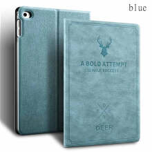 Keymao Apple ipad 6/ipad Air 2 Luxury Flip Leather Case Stand Smart Hard Cover