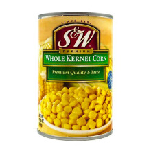 S&W Whole Kernel Corn Thailand 410gr