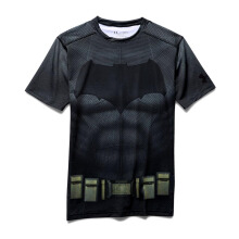 1273690-040 UNDER ARMOUR Alter Ego Batman Short Sleeve T-Shirt - Graphite [L]